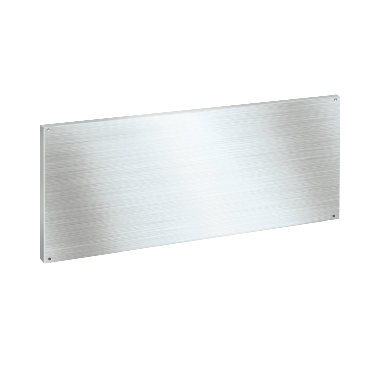 Stainless steel back panel (440 x 1200mm)