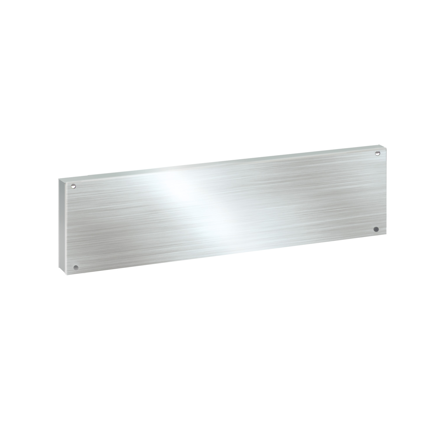 Stainless steel back panel (160 x 600mm)