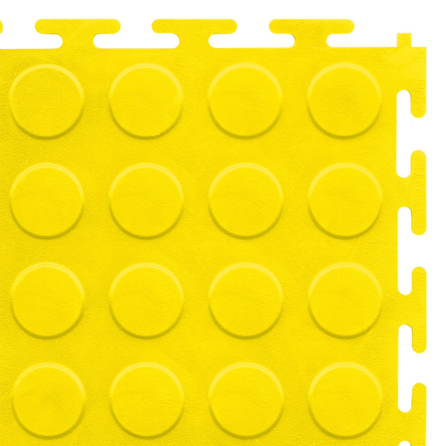 Standard floor tile (yellow/studded)