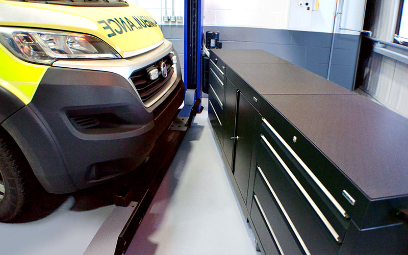 Dura inspires West Midlands Ambulance Service new facilities